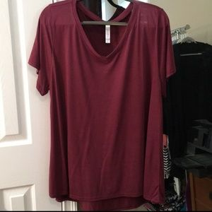 Lularoe Wine Christy Tee